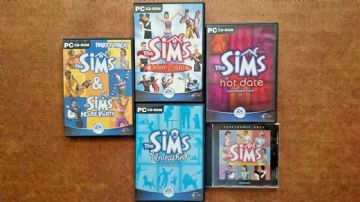 The Sims Collection (PC Windows Games)